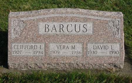 BARCUS, DAVID L. - Mahaska County, Iowa | DAVID L. BARCUS