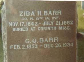 BARR, ZIBA HOLT - Mahaska County, Iowa | ZIBA HOLT BARR
