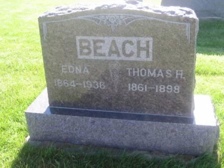 BEACH, THOMAS H - Mahaska County, Iowa | THOMAS H BEACH
