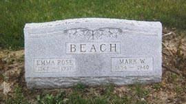 ROSE BEACH, EMMA - Mahaska County, Iowa | EMMA ROSE BEACH