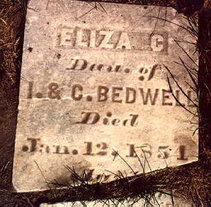 BEDWELL, ELIZA C. - Mahaska County, Iowa | ELIZA C. BEDWELL