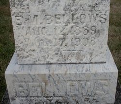 BELLOWS, E.M. - Mahaska County, Iowa | E.M. BELLOWS