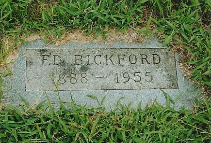 BICKFORD, ED - Mahaska County, Iowa   ED BICKFORD