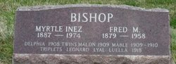 BISHOP, MALON - Mahaska County, Iowa | MALON BISHOP