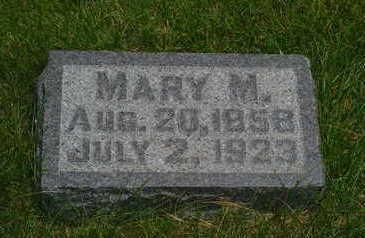 ROBBINS BLAKE, MARY M. - Mahaska County, Iowa | MARY M. ROBBINS BLAKE