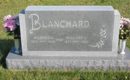 BLANCHARD, MILDRED L. - Mahaska County, Iowa | MILDRED L. BLANCHARD