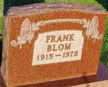 BLOM, FRANK - Mahaska County, Iowa | FRANK BLOM