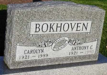 BOKHOVEN, ANTHONY C. - Mahaska County, Iowa | ANTHONY C. BOKHOVEN
