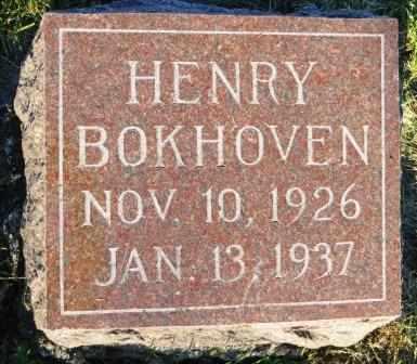 BOKHOVEN, HENRY - Mahaska County, Iowa | HENRY BOKHOVEN