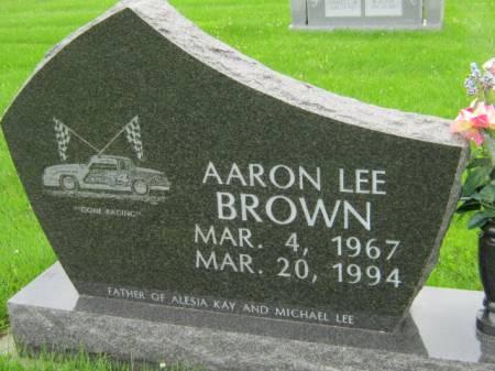 BROWN, AARON LEE - Mahaska County, Iowa | AARON LEE BROWN