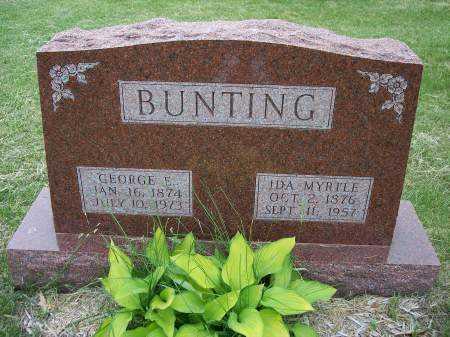 BUNTING, GEORGE E. - Mahaska County, Iowa | GEORGE E. BUNTING