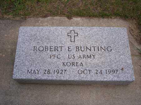 BUNTING, ROBERT E. - Mahaska County, Iowa | ROBERT E. BUNTING