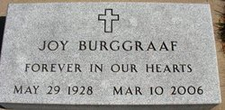 BURGGRAAF, JOY - Mahaska County, Iowa | JOY BURGGRAAF