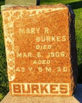 BURKES, MARY R. - Mahaska County, Iowa | MARY R. BURKES