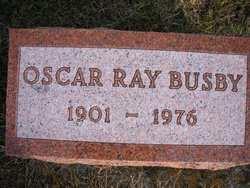 BUSBY, OSCAR RAY - Mahaska County, Iowa | OSCAR RAY BUSBY