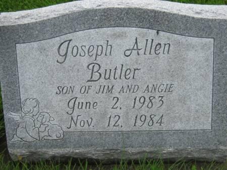 BUTLER, JOSEPH ALLEN - Mahaska County, Iowa | JOSEPH ALLEN BUTLER