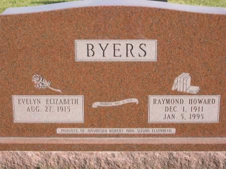 BYERS, RAYMOND HOWARD - Mahaska County, Iowa | RAYMOND HOWARD BYERS