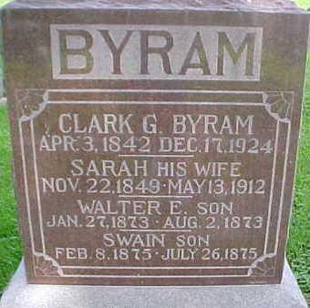 BYRAM, SWAIN - Mahaska County, Iowa | SWAIN BYRAM