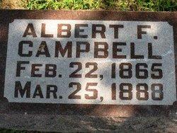 CAMPBELL, ALBERT F. - Mahaska County, Iowa   ALBERT F. CAMPBELL