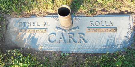 CARR, ETHEL - Mahaska County, Iowa | ETHEL CARR
