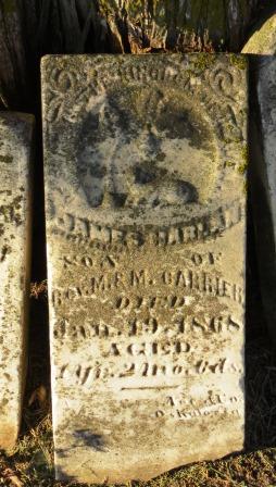CARRIER, JAMES HARLAN - Mahaska County, Iowa | JAMES HARLAN CARRIER