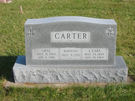 CARTER, OPAL - Mahaska County, Iowa | OPAL CARTER