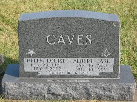 CAVES, HELEN LOUISE - Mahaska County, Iowa | HELEN LOUISE CAVES