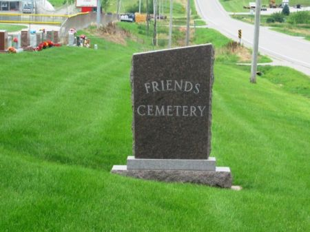 FRIENDS (NEW SHARON), CEMETERY - Mahaska County, Iowa | CEMETERY FRIENDS (NEW SHARON)