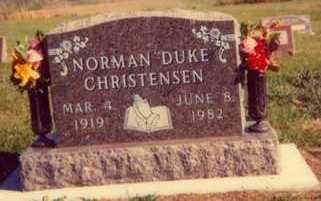 CHRISTENSEN, NORMAN