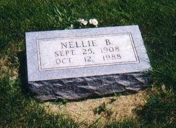 CLAYWORTH, NELLIE BEATRICE ROCKWELL - Mahaska County, Iowa | NELLIE BEATRICE ROCKWELL CLAYWORTH
