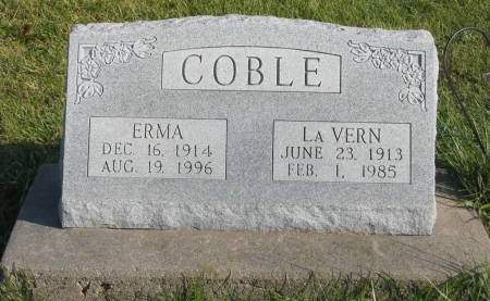 COBLE, LAVERN - Mahaska County, Iowa | LAVERN COBLE