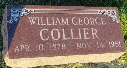 COLLIER, WILLIAM GEORGE - Mahaska County, Iowa | WILLIAM GEORGE COLLIER
