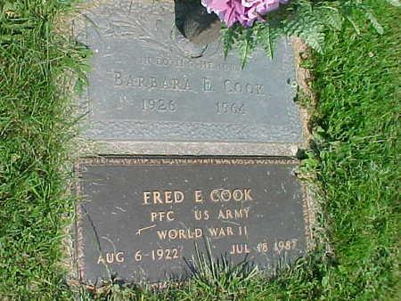 COOK, FRED E. - Mahaska County, Iowa | FRED E. COOK