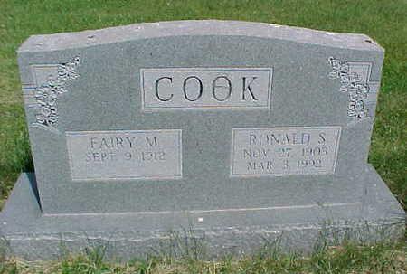 COOK, RONALD S. - Mahaska County, Iowa | RONALD S. COOK