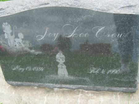 CREW, JOY LEE - Mahaska County, Iowa | JOY LEE CREW