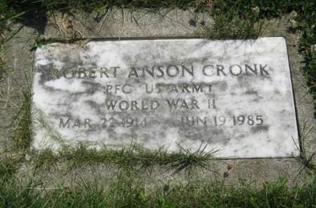 CRONK, ROBERT ANSON - Mahaska County, Iowa | ROBERT ANSON CRONK