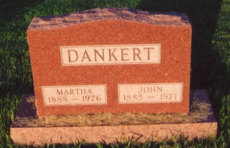 DANKERT, MARTHA - Mahaska County, Iowa | MARTHA DANKERT