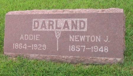 DARLAND, ADDIE - Mahaska County, Iowa | ADDIE DARLAND