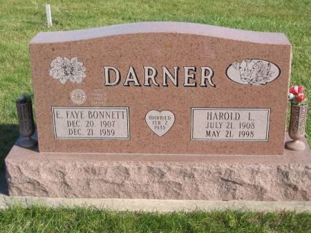 DARNER, HAROLD L. - Mahaska County, Iowa | HAROLD L. DARNER