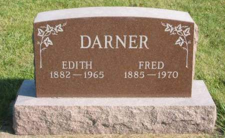 DARNER, EDITH - Mahaska County, Iowa | EDITH DARNER