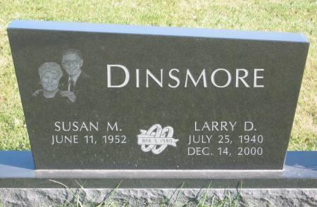 DINSMORE, LARRY D. - Mahaska County, Iowa | LARRY D. DINSMORE