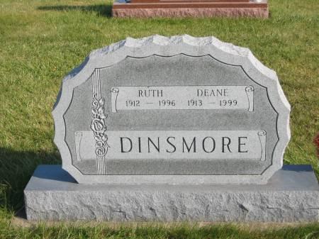 DINSMORE, RUTH - Mahaska County, Iowa | RUTH DINSMORE