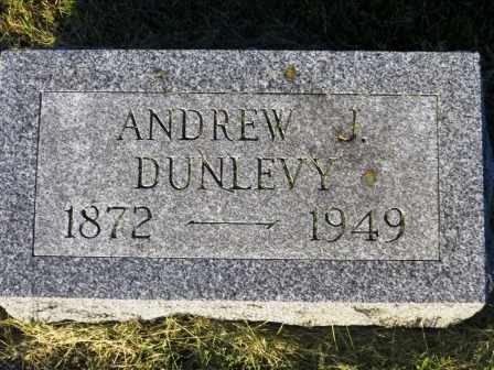 DUNLEVY, ANDREW J. - Mahaska County, Iowa   ANDREW J. DUNLEVY
