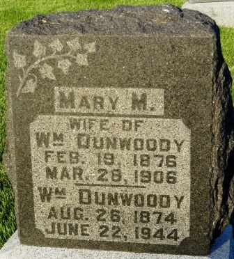 DUNWOODY, MARY M. - Mahaska County, Iowa | MARY M. DUNWOODY