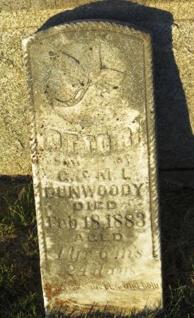 DUNWOODY, OTTO R. - Mahaska County, Iowa | OTTO R. DUNWOODY