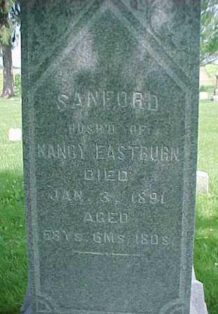 EASTBURN, SANFORD - Mahaska County, Iowa   SANFORD EASTBURN