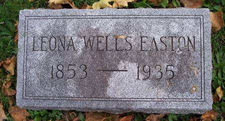 WELLS EASTON, LEONA - Mahaska County, Iowa | LEONA WELLS EASTON