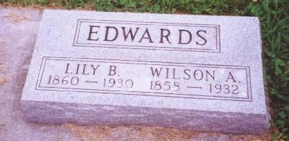 PERDUE-SUTHERLAND EDWARDS, LILY BELLE - Mahaska County, Iowa | LILY BELLE PERDUE-SUTHERLAND EDWARDS