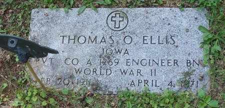 ELLIS, THOMAS ORVILLE - Mahaska County, Iowa | THOMAS ORVILLE ELLIS