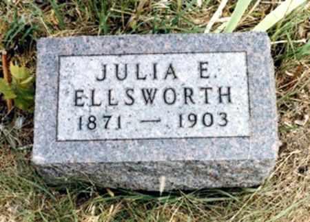 WYMORE ELLSWORTH, JULIA ETTA - Mahaska County, Iowa | JULIA ETTA WYMORE ELLSWORTH